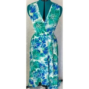 Calvin Klein Chiffon High Low Dress